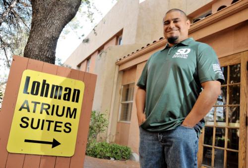 Bryan Sullivan, owner of Sullivan Design LLC in Las Cruces.