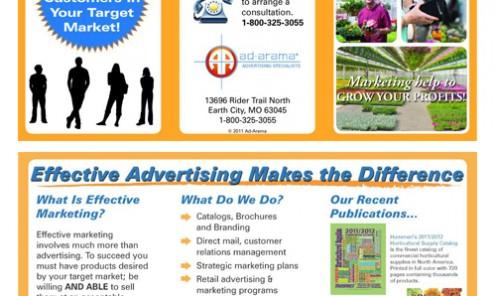 Ad-Arama Tri-Fold Brochure