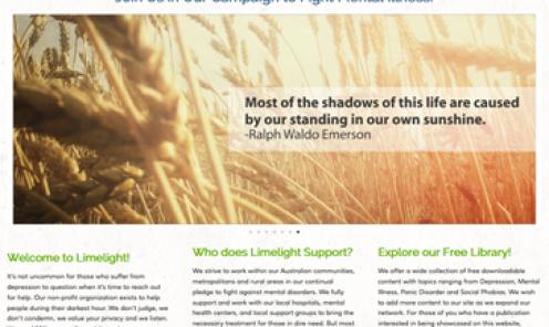 Limelight Foundation Website
