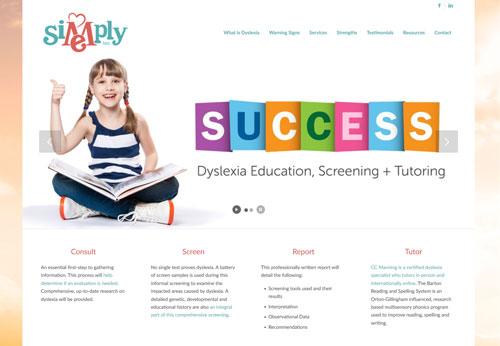 Simply Me Inc. Website Developed by Las Cruces Web Development Graphic Design Sullivan Design LLC