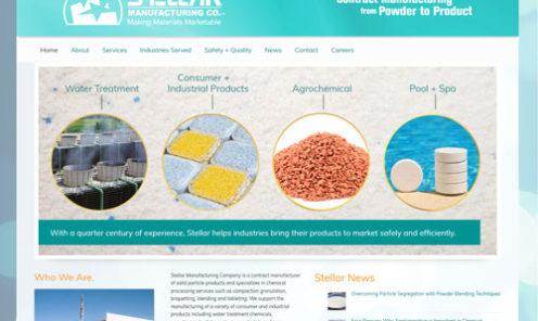 Stellar Manufacturing Website